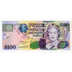 Central Bank of the Bahamas, 2009 Issued Replacement Banknote.