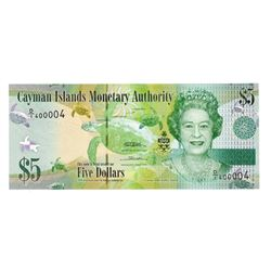 Cayman Islands Monetary Authority, 2010, Two Digit Radar Note