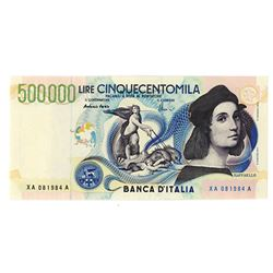Banca D'Italia, 1997 Issued Replacement Banknote.