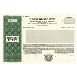 Principal Treasury Receipt, U.S. Federal 1994 Specimen Bond