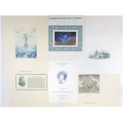 ABN Intaglio Printed Document Assortment, 1970-1990's.