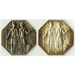 Compagnie Agents de Change & Agents De Change De Paris, Silver Medal Pair.