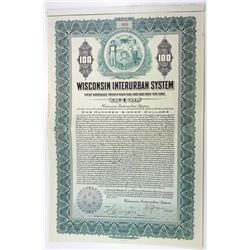 Wisconsin Interurban System, 1917 I/U Bond