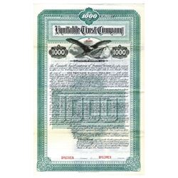 Equitable Trust Co., 1901 Specimen Bond