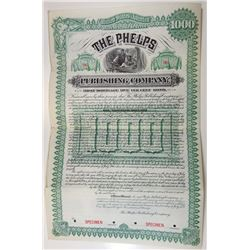Phelps Publishing Co., 1890 Specimen Bond