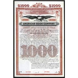 American Book Co., 1900 Specimen bond..