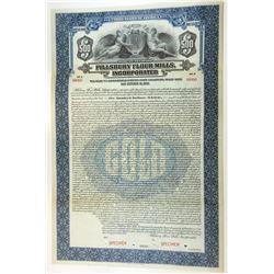 Pillsbury Flour Mills, Inc, 1923 $500 Specimen 7% Collateral Trust Bond, VF ABNC
