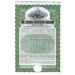 Canada Southern Railway Co., 1912 Specimen Bond
