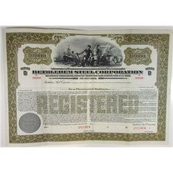 Bethlehem Steel Corp, 1950s Specimen Bond
