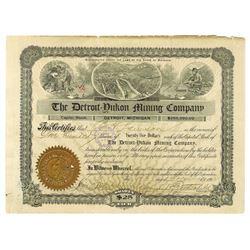 Detroit=Yukon Mining Co., 1902 Stock Certificate.