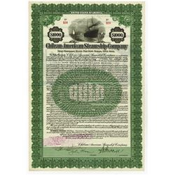 Chilean-American Steamship Co., 1919 Issued Bond.