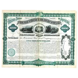 Housatonic Rail Road Co., 1880 Specimen Bond