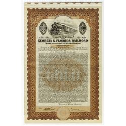 Georgia & Florida Railroad, 1926 Issued Bond