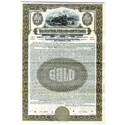New York, Chicago and St. Louis Railroad Co., 19285 Specimen Bond
