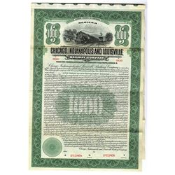 Chicago, Indianapolis & Louisville Railway Co., Series B, 1922 Specimen Bond
