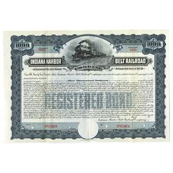 Indiana Harbor Belt Railroad Co., 1907 Specimen Bond