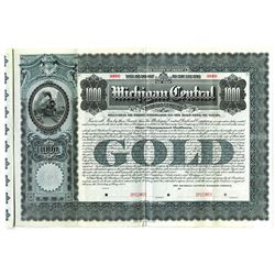 Michigan Central Railroad Co., 1902 Specimen Bond