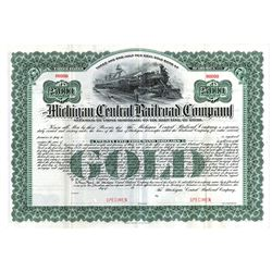 Michigan Central Railroad Co., ca.1900-1910 Specimen Bond