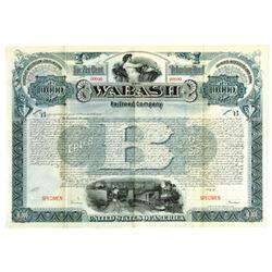 Wabash Railroad Co., ca.1900-1920 Specimen Bond