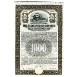 Cleveland Short Line Railway Co., 1911 Specimen Bond