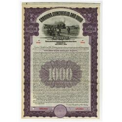 Carolina, Clinchfield & Ohio Railway, 1926 Specimen Bond