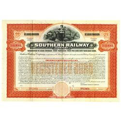 Southern Railway Co. St. Louis Division, 1901 Specimen Bond