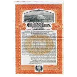 City of St. Louis, ca.1920-1930 Specimen Bond