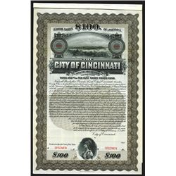 City of Cincinnati. OH. 1907.