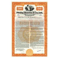 Philip Morris & Co. Ltd., 1942 Specimen Bond