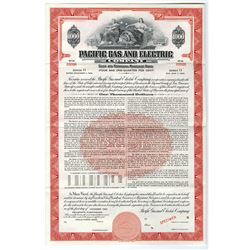 Pacific Gas and Electric Co., 1962 Specimen Bond