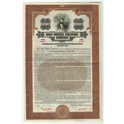 Gulf States Utilities Co., 1931 Specimen Bond