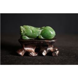 "A ""Rui Shou"" jade pendant."