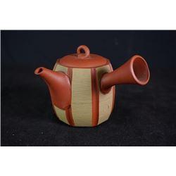 """A Tokoname ceramic pot, """"Zhao HeWu Shi Yi Nian""""(1976)."""