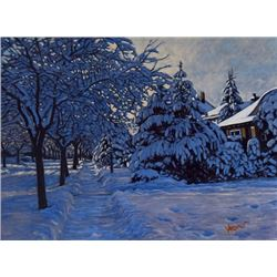 Snow on Wycliffe Road - Dan Varnals