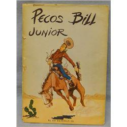 Bateman, Ed, Pecos Bill Junior, book mock-up, 1952, rare