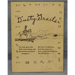 Dusty Trails, Jordan, MT & Garfield County history