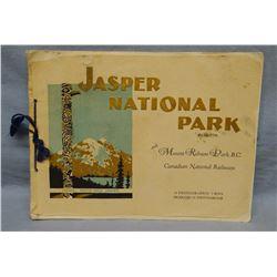 Jasper National Park souvenir booklet, British Columbia