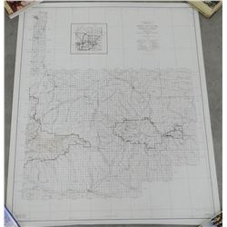 Forest Service maps, vintage