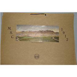 1912 MSC photo calendar, near fine