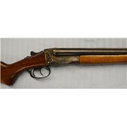 """Stevens Model 311A, 16 ga., double barrel shotgun, SXS, missing butt plate, 25"""", used"""