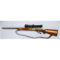 """Ruger Model 1B, 300 H&H, single shot w/Tasco 3-9 variable scope, S#132-91839, 26"""", like new"""