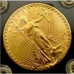 1927 St. Gaudens $20 gold piece