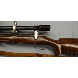 Winchester 70 target bull, .300 mag, H& H, bolt, w/Bull Barrel, 0-9 J. Unertl scope, S#604, 28