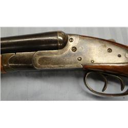 "Crescent Peerless, 16 ga. shotgun, sidelock, s/s double barrel, S#270145, 30"", used"