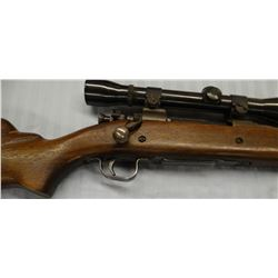 """Springfield 03A3, 30-06, bolt action w/Weaver scope, S# 4105743, stock repaired, 24"""""""