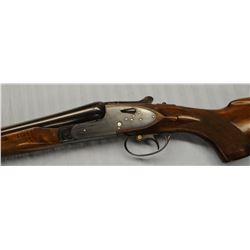 "AYA 217, side lock, 12 ga., s/s shotgun, S#264718, 30"", like new"