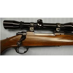 """Ruger 77, 7x57, bolt action, w/United Golden Hawk scope, S#74-86036, 22"""", like new"""