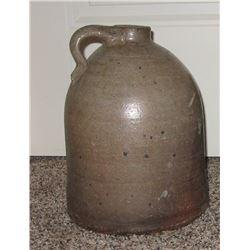 Un-marked 1 gal jug, ca 1800's, few chips
