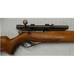 """Mossberg 46 B(G), .22, bolt action w/scope, front load w/tube, 26"""""""