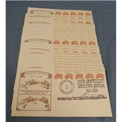 20 Lewistown, MT 100th Anniversary envelopes